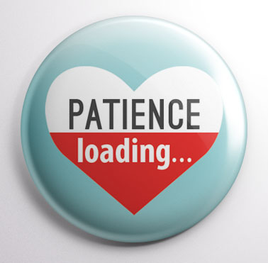 Patience Loading Button